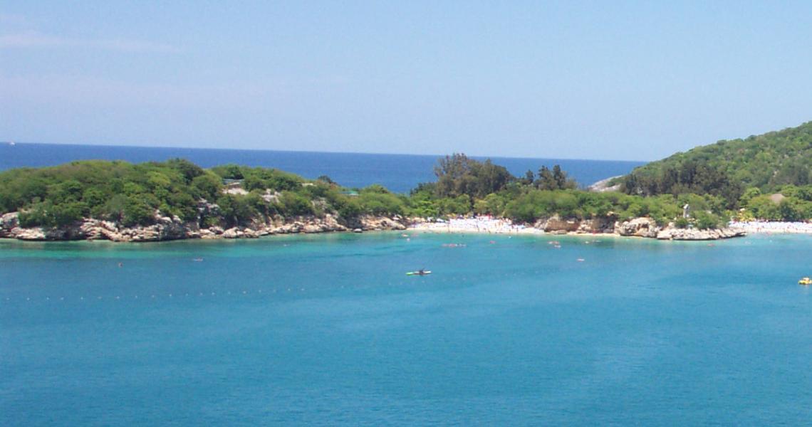 RCCLs ö Labadee på Haiti